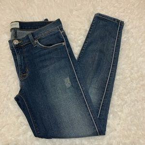 Hudson Medium wash Dakota style skinny jean sz 27